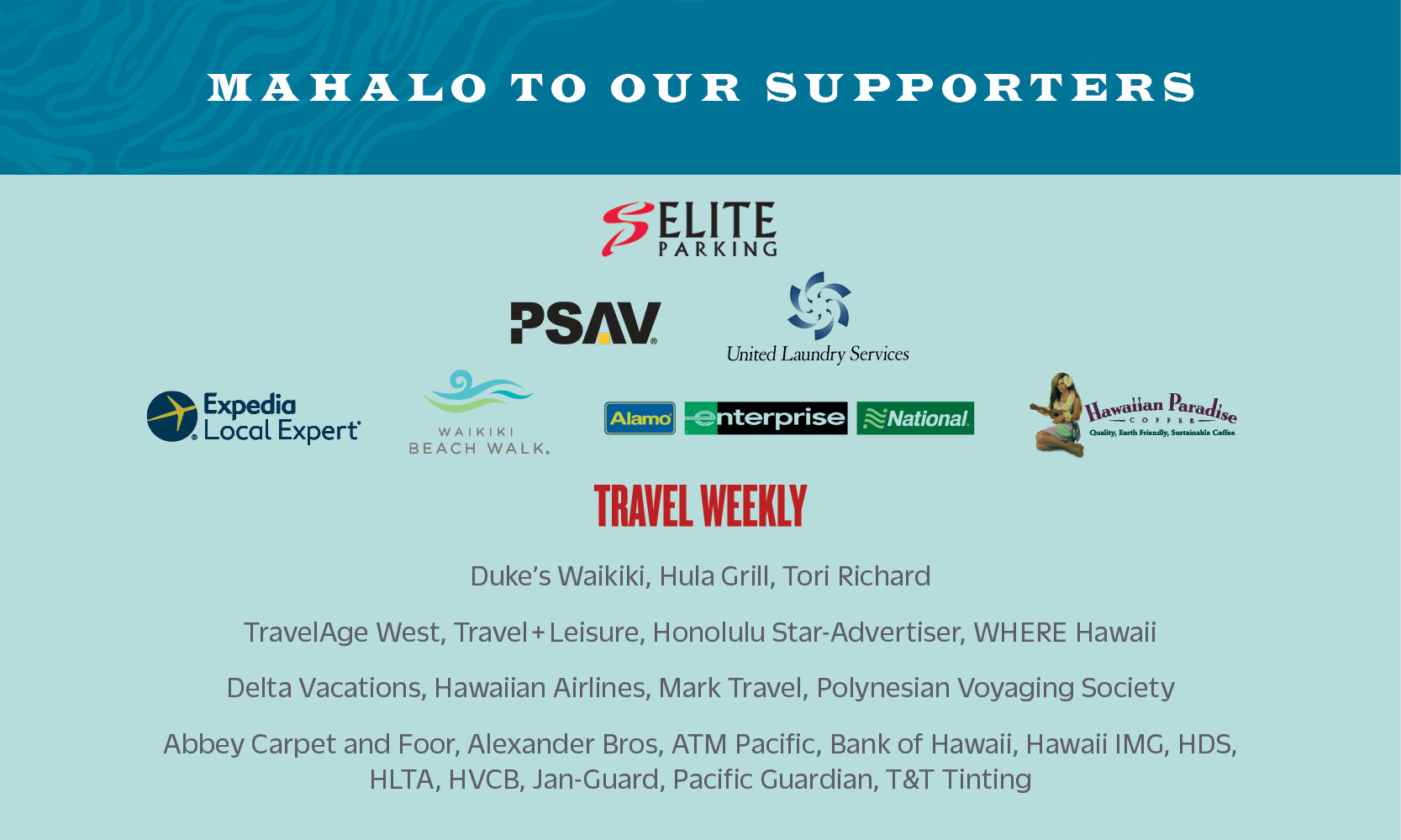 Outrigger Hotels & Resorts 70th Anniversary