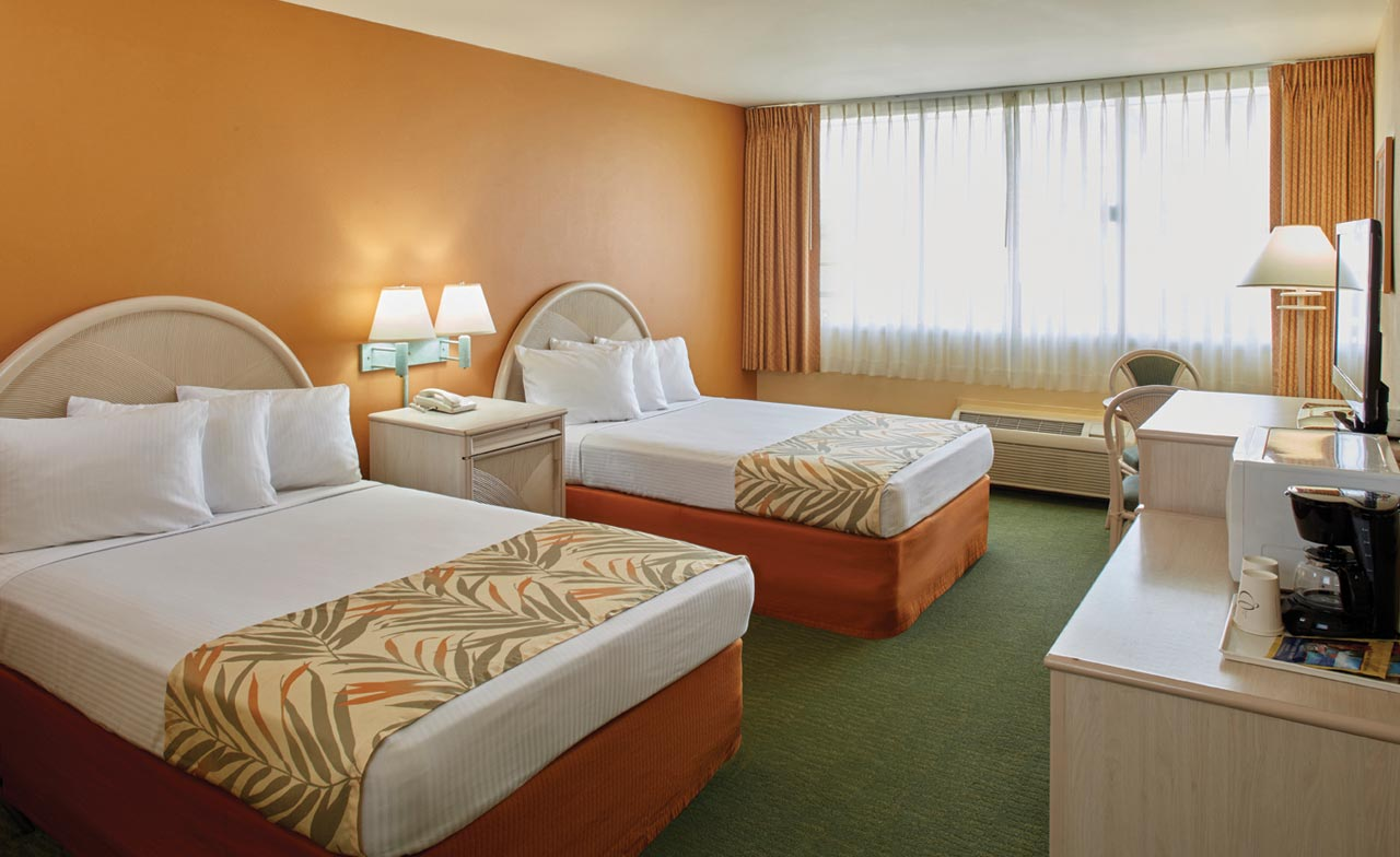 Superior Room With 2 Double Beds Airport Honolulu Hotel