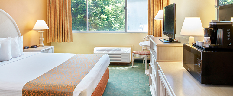 Guest room with 1 bed | Airport Honolulu Hotel