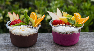 Try local acai bowls | Kauai