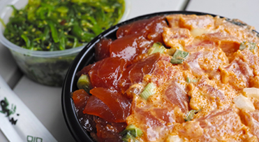 A local favorite: poke