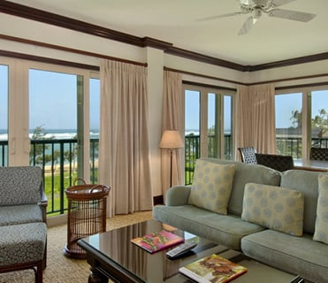 2 Bedroom Royal Oceanfront at Waipouli Beach Resort Kauai by Outrigger