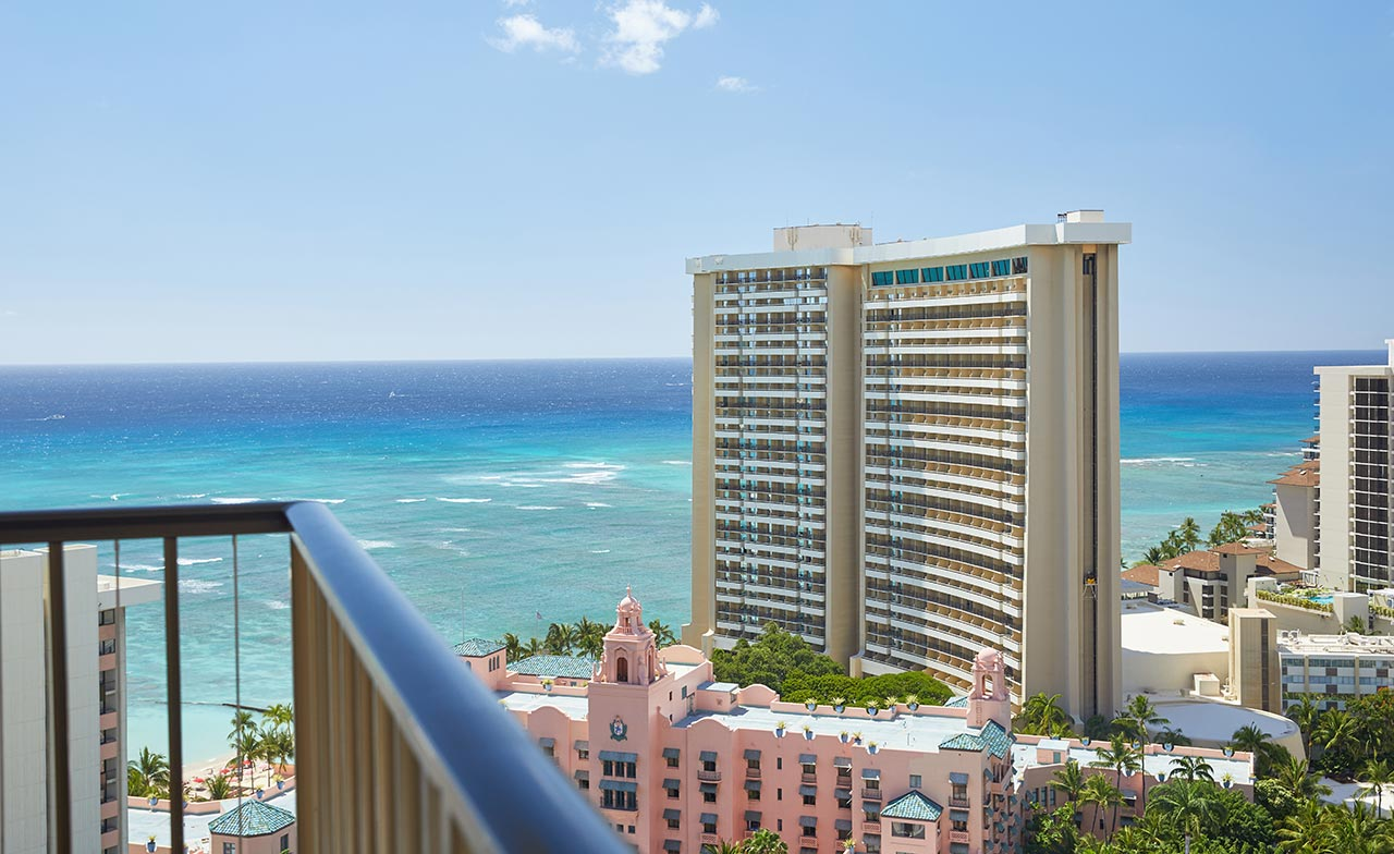1 Bedroom Ocean View Suite Waikiki Beachcomber By Outrigger