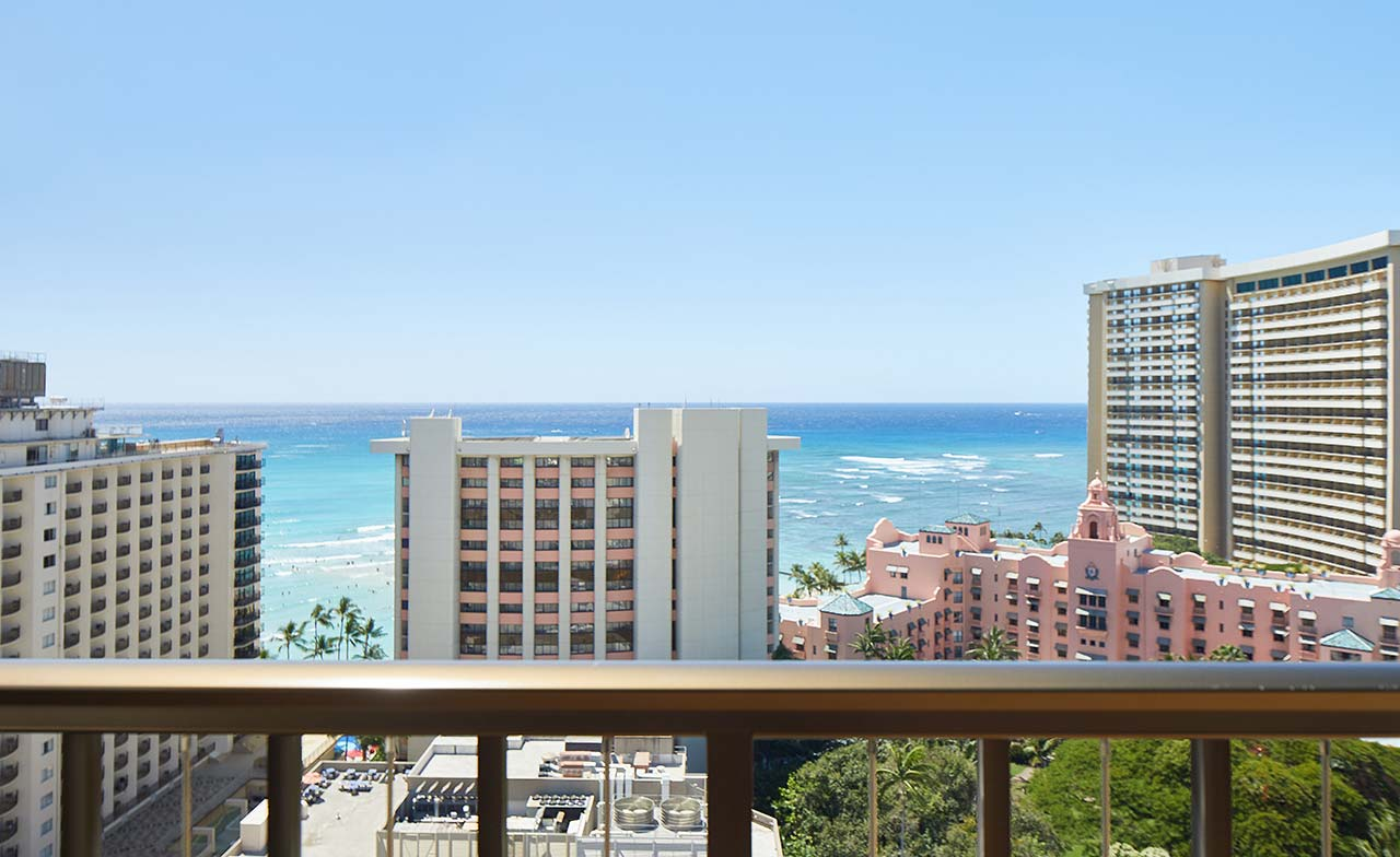 2 Bedroom Ocean View Suite Waikiki Beachcomber By Outrigger
