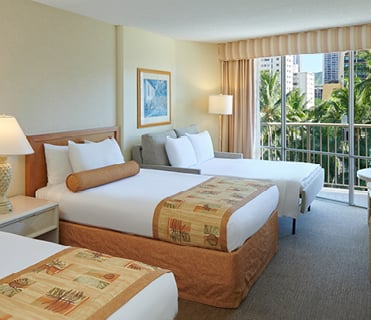 Waikiki View Room | OHANA Waikiki East by Outrigger