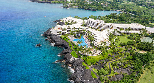 Aerial View | Outrigger Kona Resort and Spa