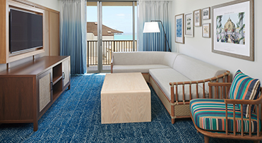 Living area | Outrigger Reef Waikiki Beach Resort