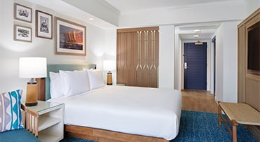 Ocean View guestroom | Outrigger Reef Waikiki Beach Resort