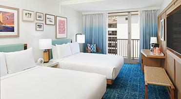 Partial Ocean View | Outrigger Reef Waikiki Beach Resort