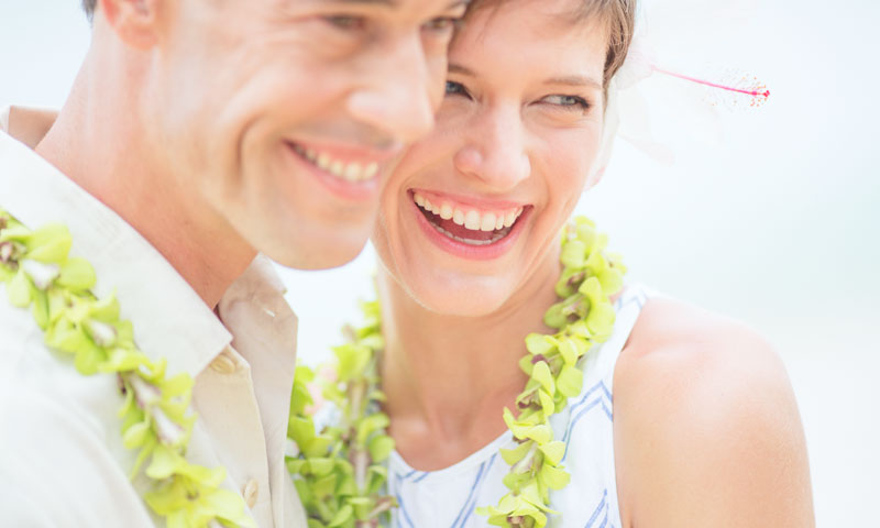 Vow renewal - Outrigger Waikiki Beach Resort