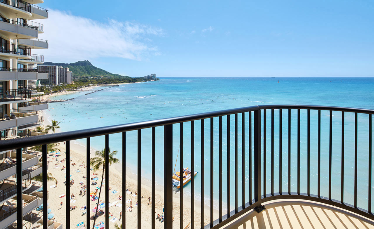 1 Bedroom Oceanfront Suite With Lanai Outrigger Waikiki Beach Resort