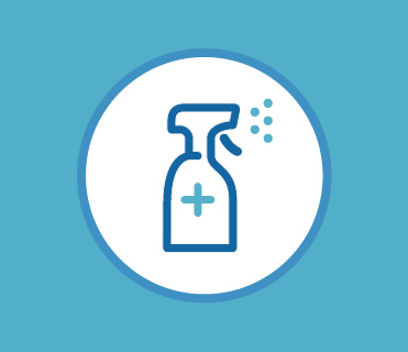 Increased Cleaning Icon