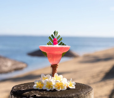 Outrigger Fiji - Living Coral Cocktail