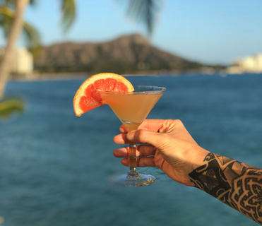 Living Coral - Best Waikiki Cocktails