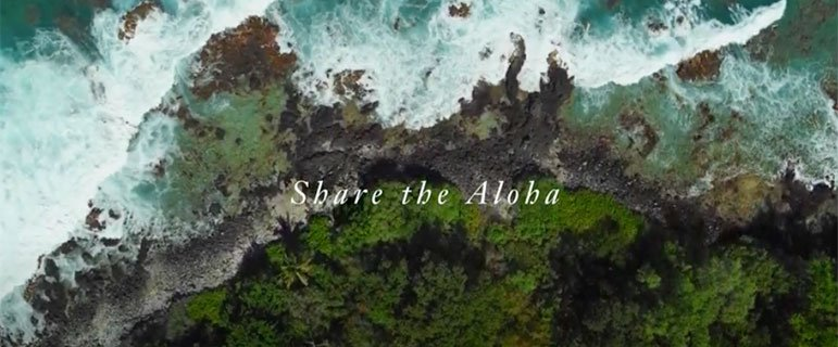 Share the Aloha