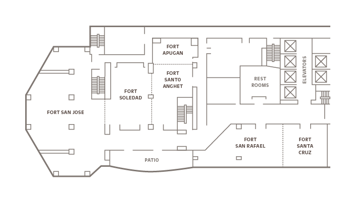 Meeting room floor plans - Outrigger Guam Beach Resort