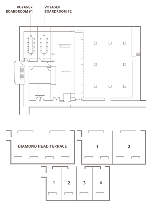Meeting room floor plans - Outrigger Reef Waikiki Beach Resort