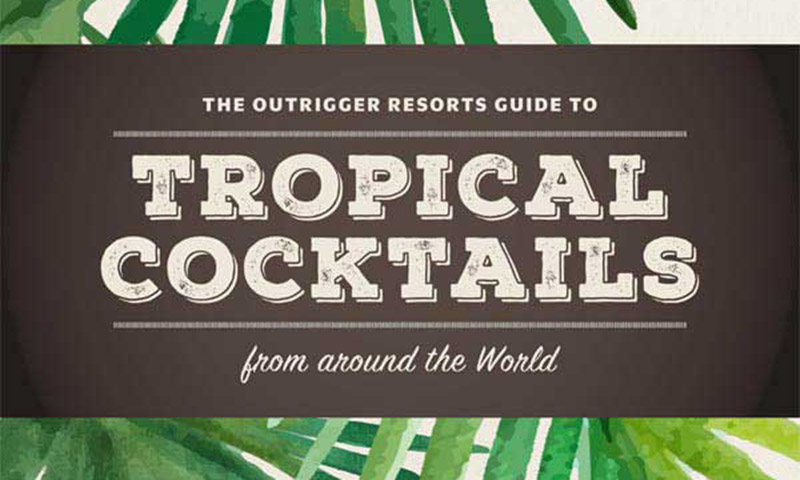 Tropical cocktails from around the world
