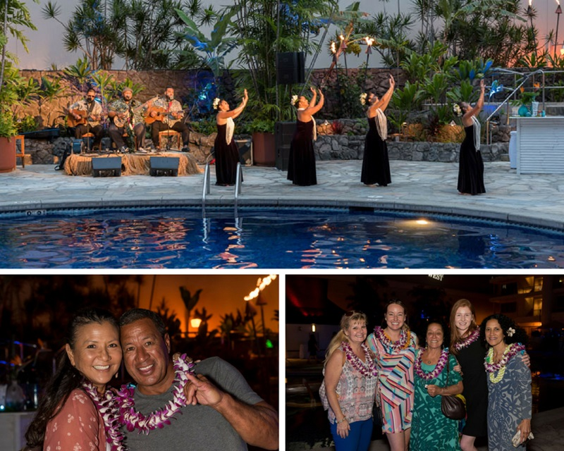 Outrigger 70th Anniversary Pool Party in Waikiki