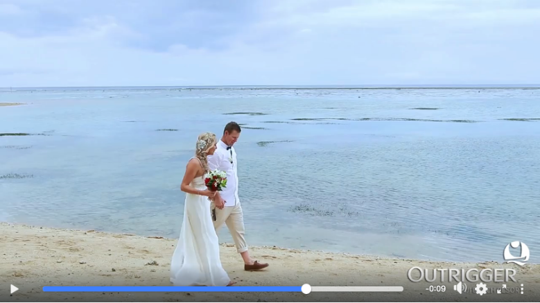fiji wedding video 4