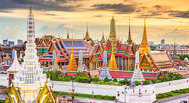 Grand Palace at Sunset - Thailand