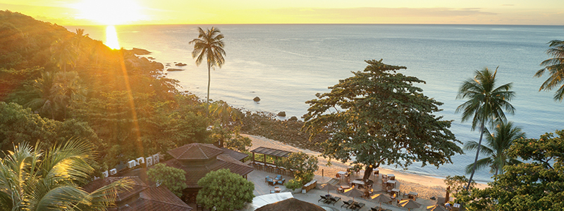 Wake up to gorgeous sunrises | Outrigger Koh Samui Beach Resort