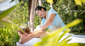 Private massages| Outrigger Koh Samui Beach Resort