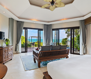 Beachfront Plunge Pool Suite| Outrigger Koh Samui Beach Resort