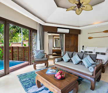 Plunge Pool Suite| Outrigger Koh Samui Beach Resort