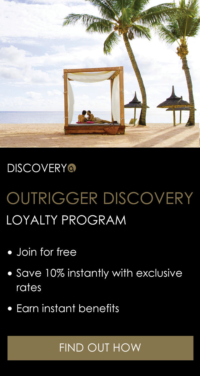 Outrigger discovery loyalty program
